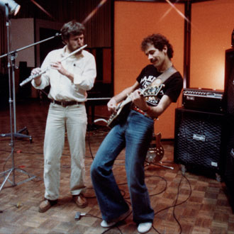 Randy & Carlos jammin' in the 70's